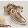 Lgm Guld sneakers med lynlås 8