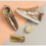 Lgm Guld sneakers med lynlås 7