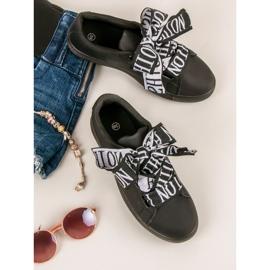 Black Fashion sneakers sort 8