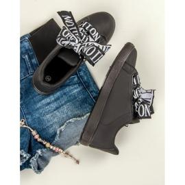 Black Fashion sneakers sort 5