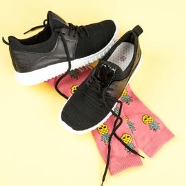 Sort slip-in sneakers 6