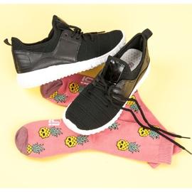 Sort slip-in sneakers 7