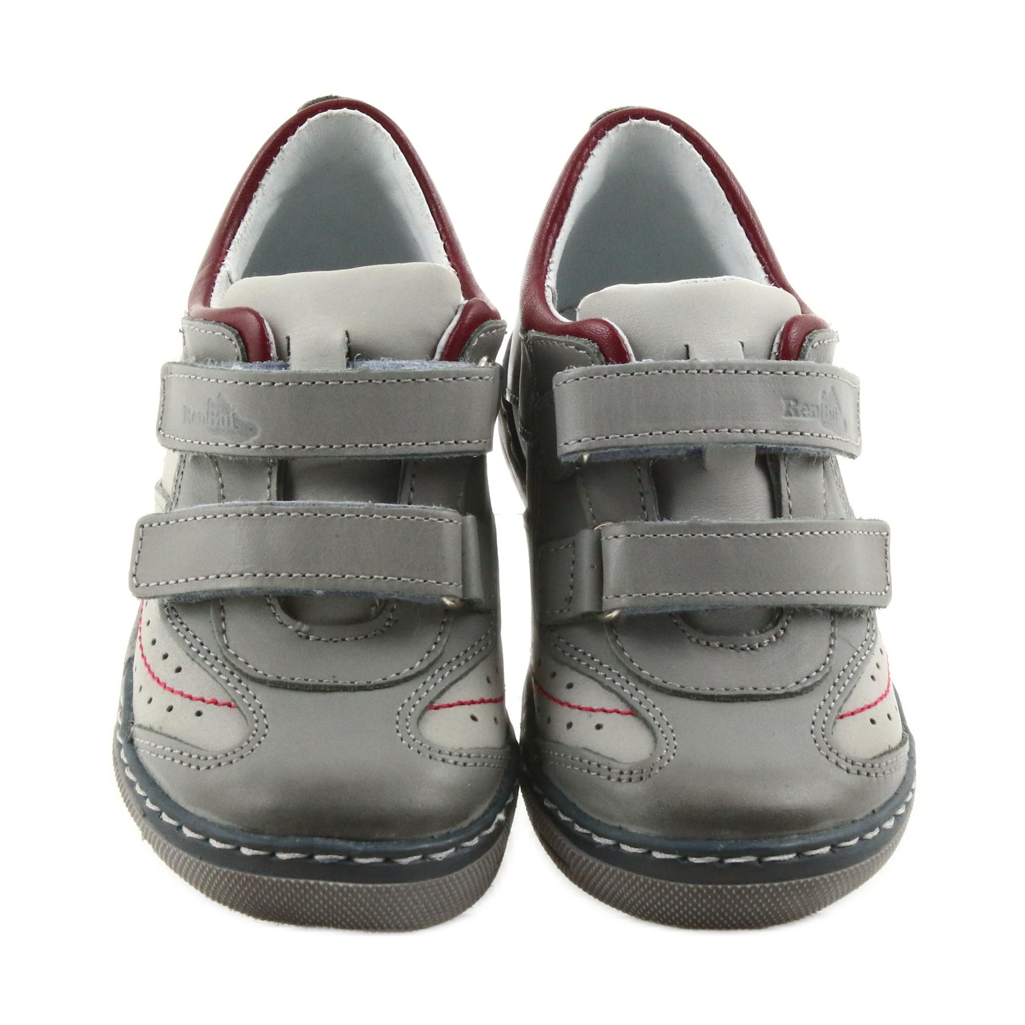 3dbe327c8 Ren But Grå sko, støvler med velcro Ren Men 3047
