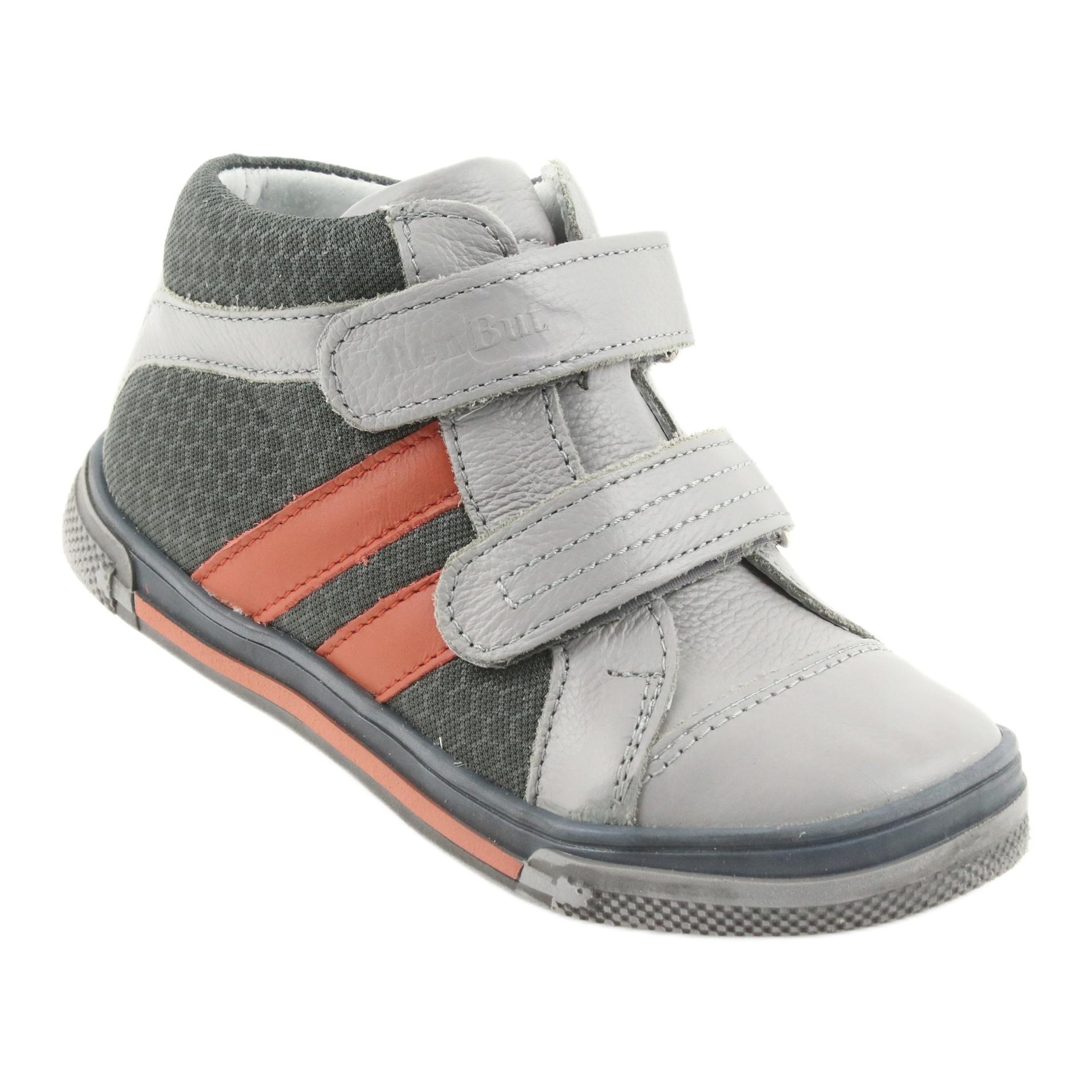 32a44b42b Ren But Boote sko Velcro støvler Ren Men 3225 grå / orange
