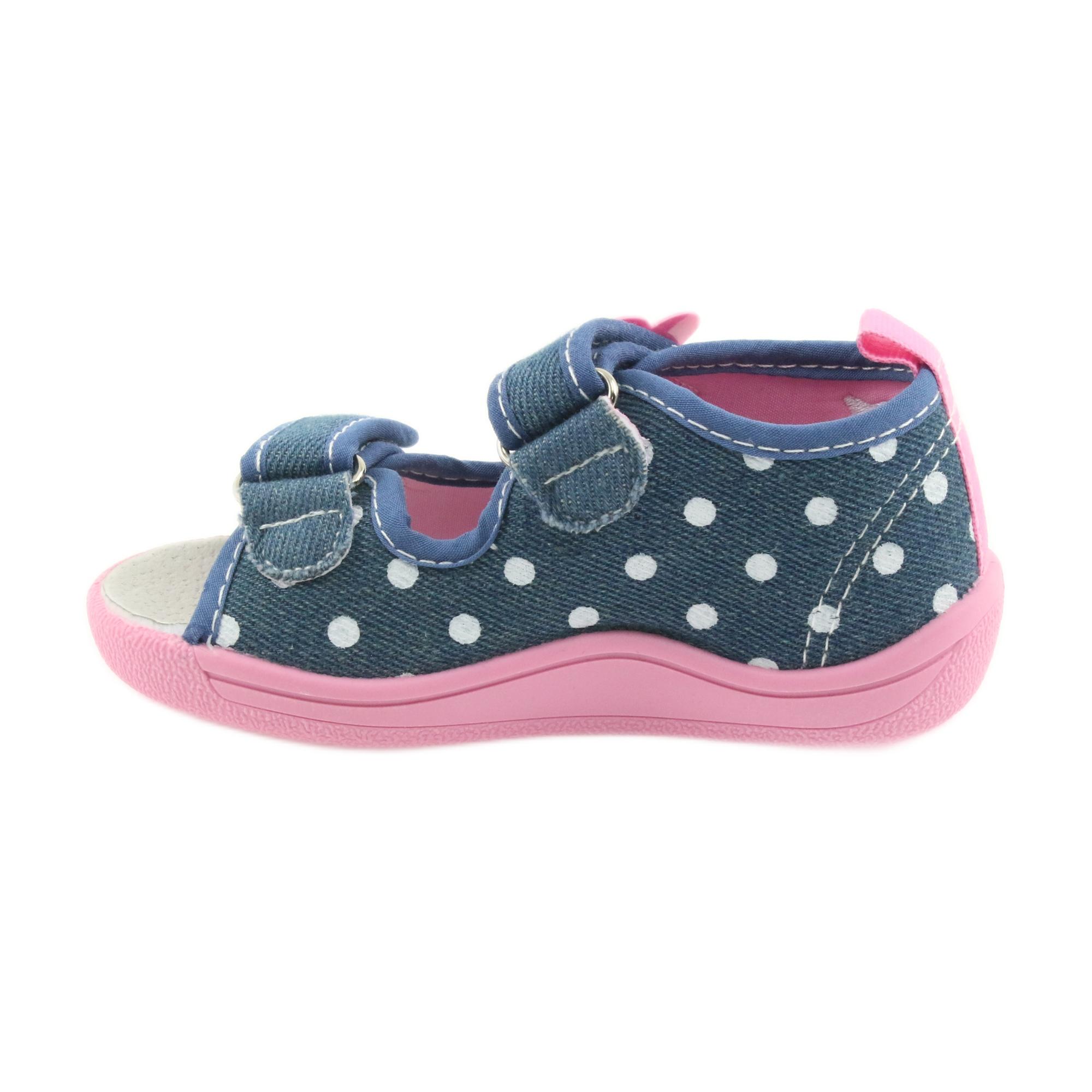 0fee4c3e American Club Børns sko tøfler sandaler jeans amerikanske kitty 39/19  billede 2