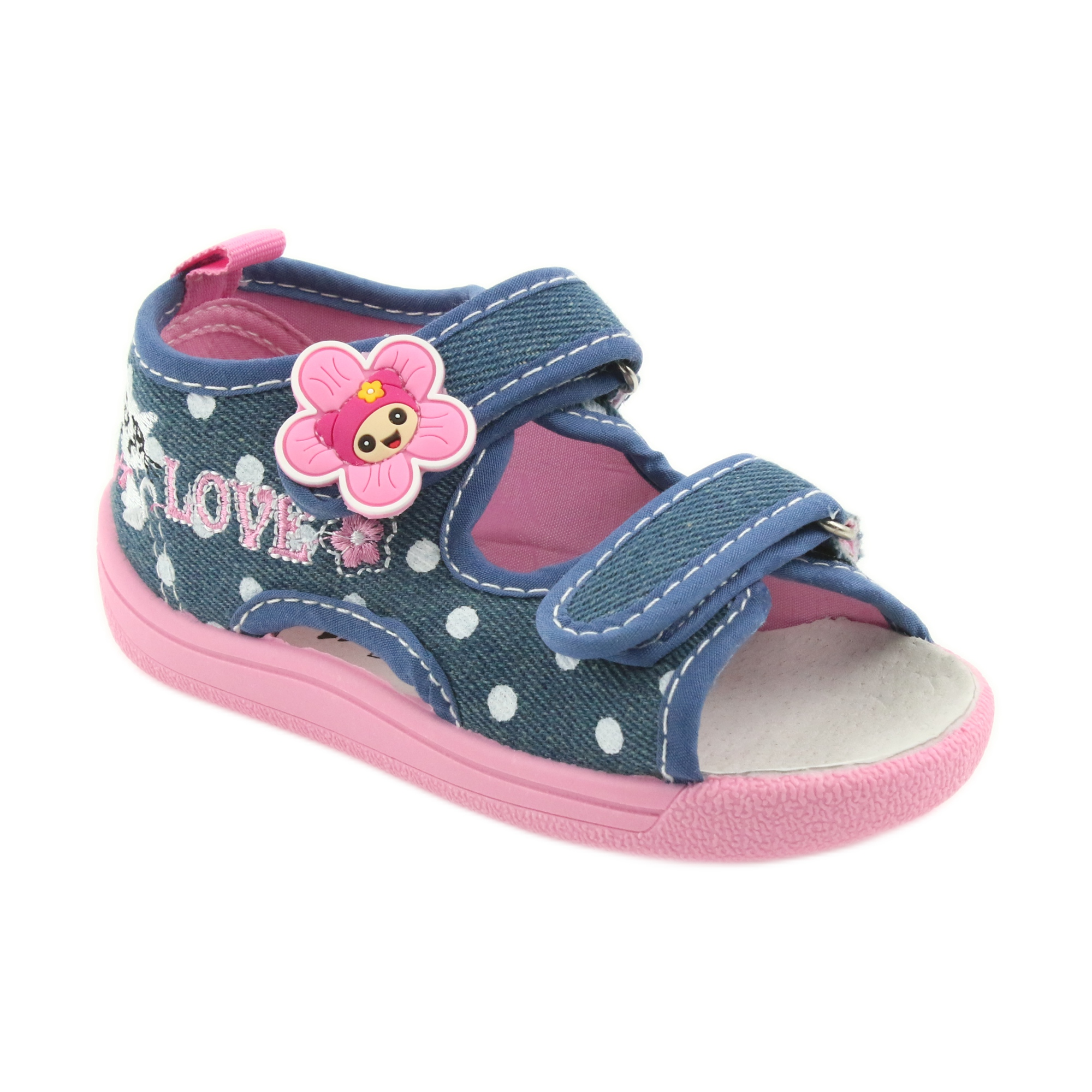 1c639fba American Club Børns sko tøfler sandaler jeans amerikanske kitty 39/19  billede 1