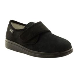 Befado kvinders sko pu 036D007 sort 2