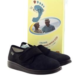 Befado kvinders sko pu 036D007 sort 5