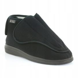 Befado kvinders sko pu orto 163D002 sort 2