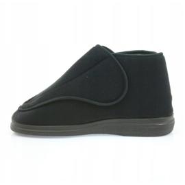 Befado kvinders sko pu orto 163D002 sort 3