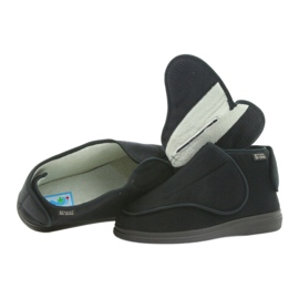 Befado kvinders sko pu orto 163D002 sort 4