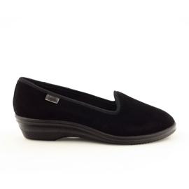 Befado kvinders sko pvc 262D008 sort 1
