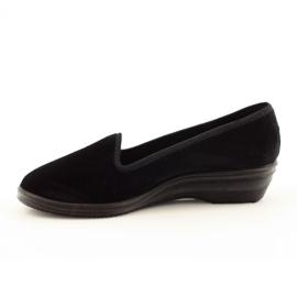 Befado kvinders sko pvc 262D008 sort 3