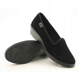 Befado kvinders sko pvc 262D008 sort 4