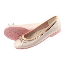 Ballerinas med en buerosa perle American Club GC14 / 19 4