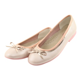 Ballerinas med en buerosa perle American Club GC14 / 19 3