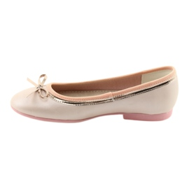 Ballerinas med en buerosa perle American Club GC14 / 19 2