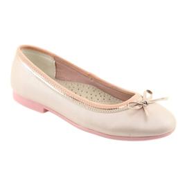 Ballerinas med en buerosa perle American Club GC14 / 19 1