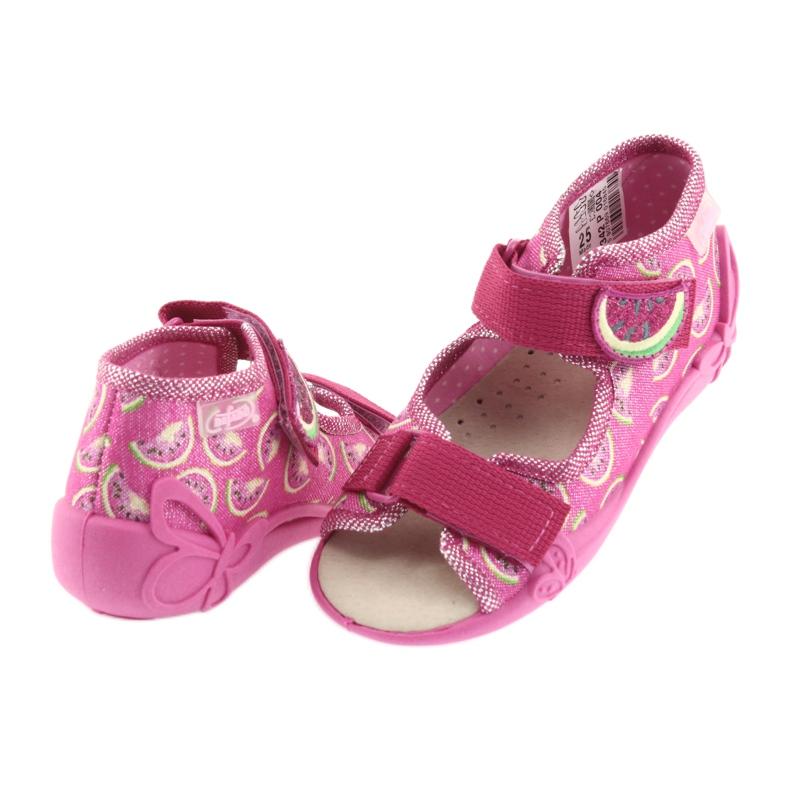 Pink Befado gul børnesko 342P004 billede 5