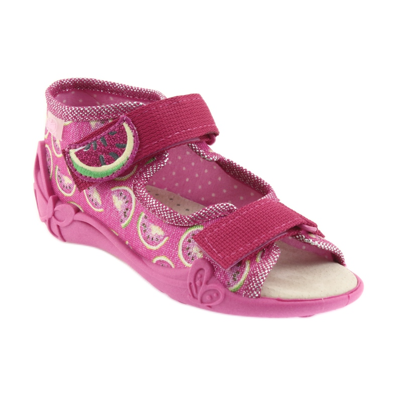 Pink Befado gul børnesko 342P004 billede 2