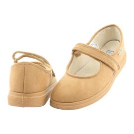 Befado kvinders sko pu 462D003 brun 5
