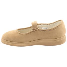 Befado kvinders sko pu 462D003 brun 3