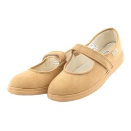 Befado kvinders sko pu 462D003 brun 4