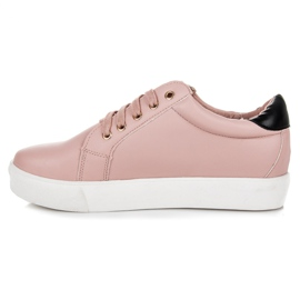 Vices Lace-up Love Sneakers pink 5