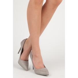 Seastar Moderigtigt Grey High Heels grå 4