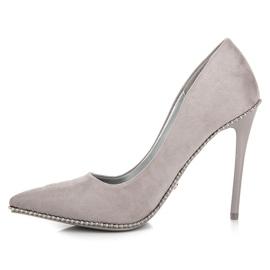 Seastar Moderigtigt Grey High Heels grå 1