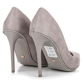 Seastar Moderigtigt Grey High Heels grå 2