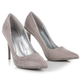 Seastar Moderigtigt Grey High Heels grå 3