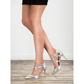 Kylie Skinnende Fashion Studs grå 1
