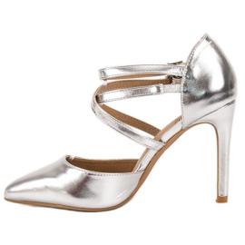 Kylie Skinnende Fashion Studs grå 4