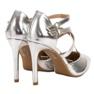 Kylie grå Skinnende Fashion Studs billede 5