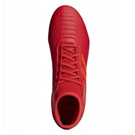 Fodboldstøvler adidas Predator 19.3 Fg M BB9334 rød rød 2