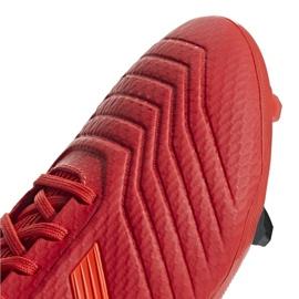 Fodboldstøvler adidas Predator 19.3 Fg M BB9334 rød rød 4