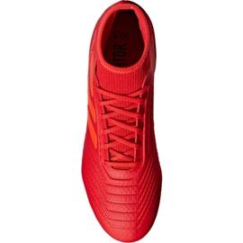 Fodboldstøvler adidas Predator 19.3 Fg M BB9334 rød rød 5