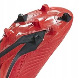 Fodboldstøvler adidas Predator 19.3 Fg M BB9334 rød rød 9