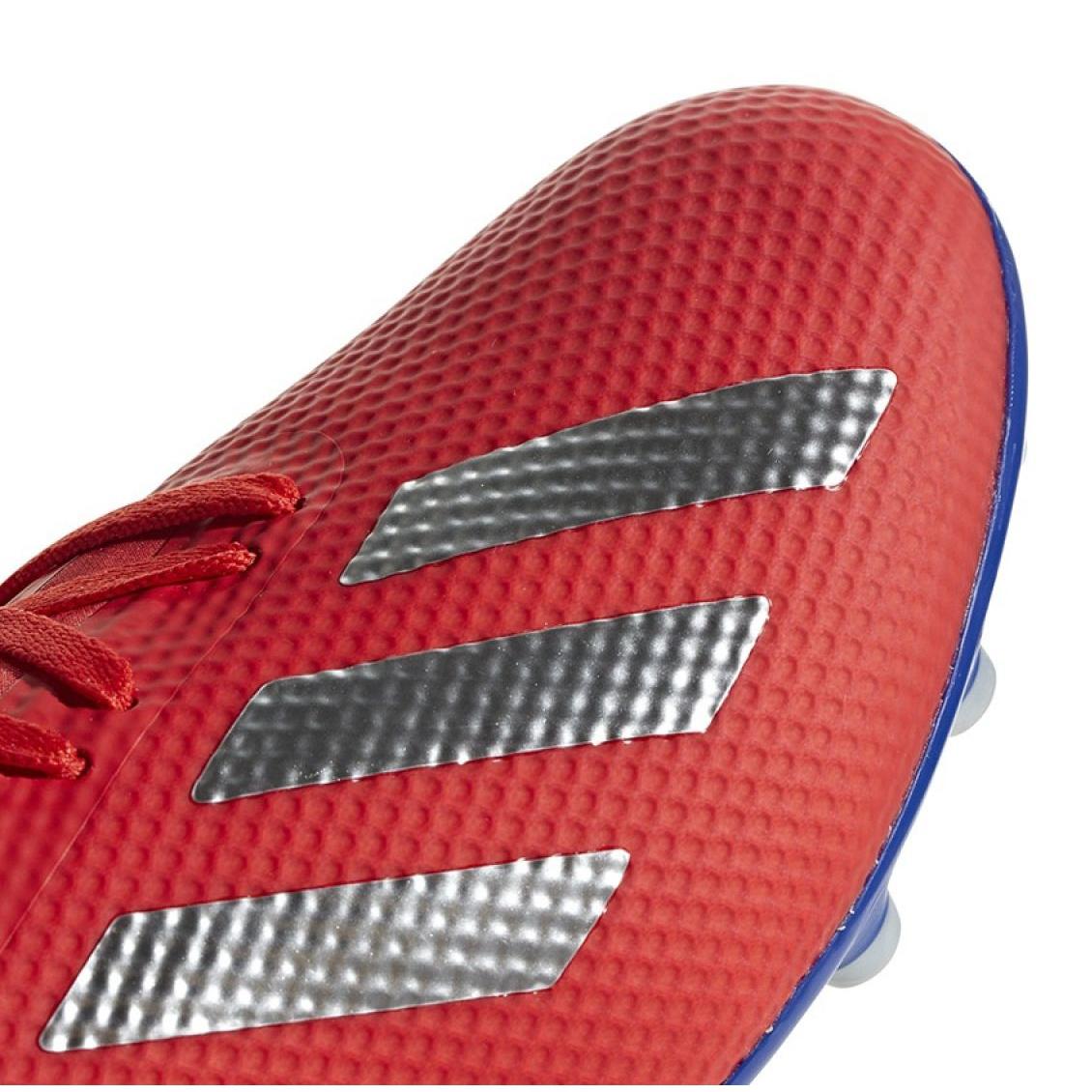 Fodboldstøvler adidas X 18.3 Ag M BC0299 ButyModne.pl