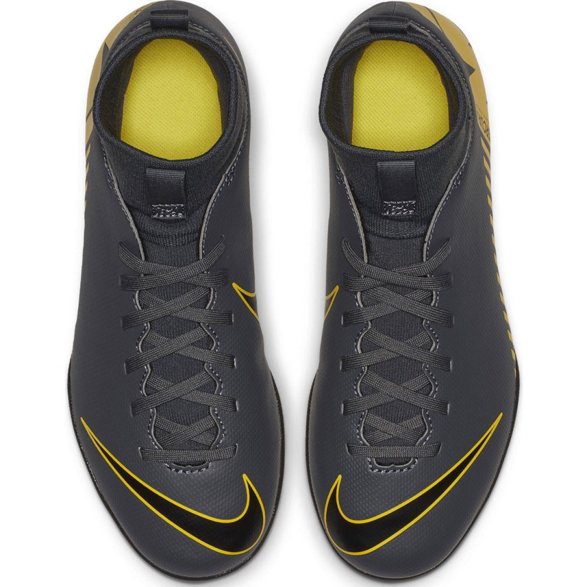 4f6091ce Indendørs sko Nike Mercurial Superfly X 6 Club Ic Jr AH7346-070 billede 2