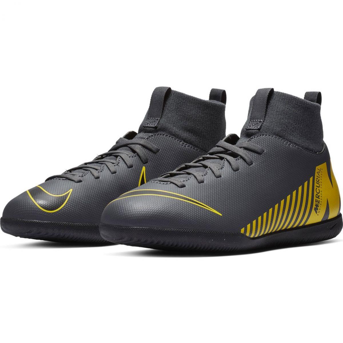 991ca8ba Indendørs sko Nike Mercurial Superfly X 6 Club Ic Jr AH7346-070 billede 4