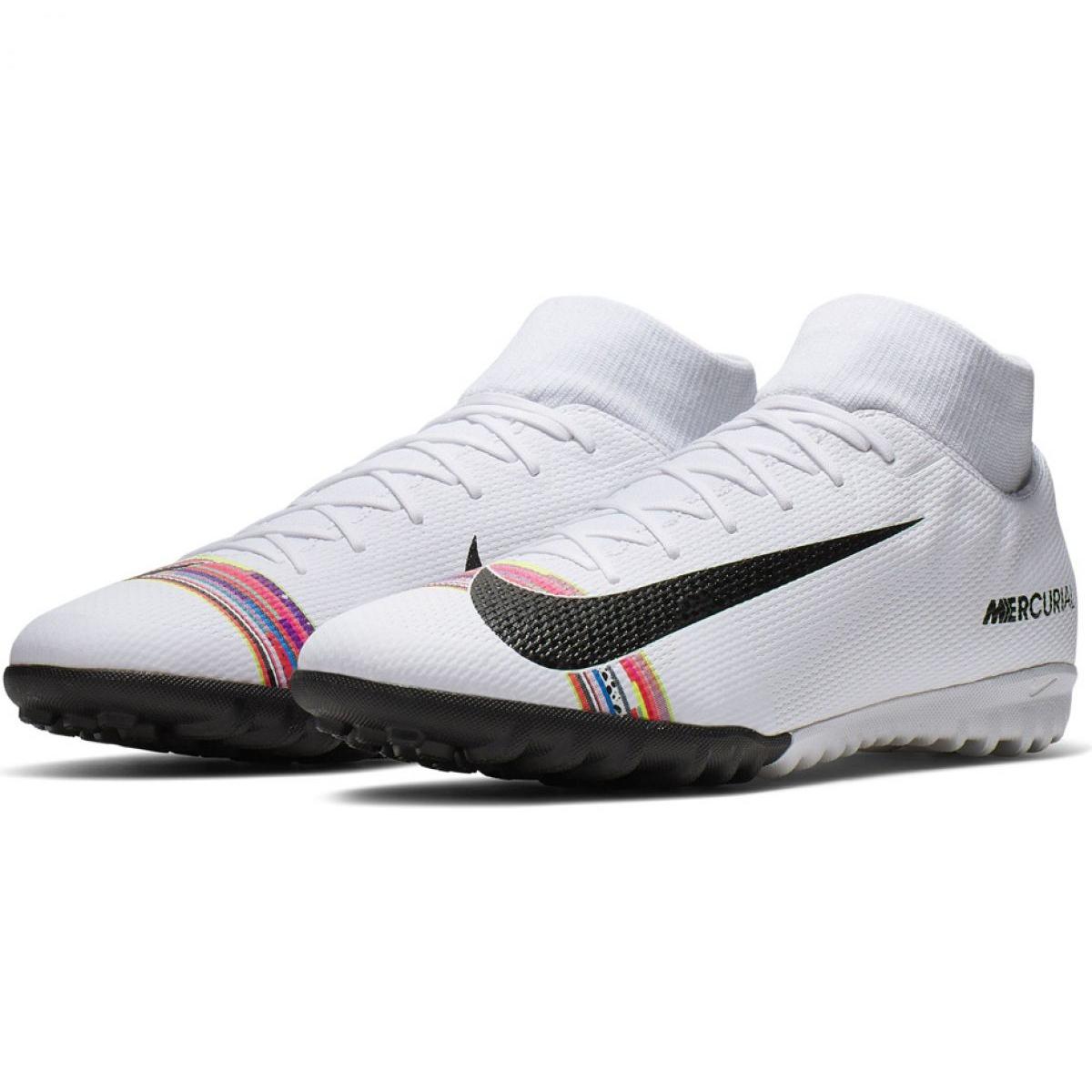 d123e0a3 Fodboldsko Nike Mercurial Superfly X 6 Academy Tf M AJ3568-109 billede 3