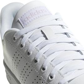 Adidas Advantage W F36481 sko hvid 4