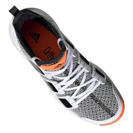 Adidas Stabil Jr F33830 håndboldsko hvid, sort grå 3