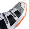 Adidas Stabil Jr F33830 håndboldsko hvid, sort grå 4
