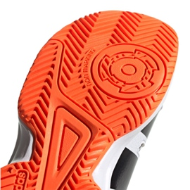 Adidas Stabil Jr F33830 håndboldsko hvid, sort grå 5