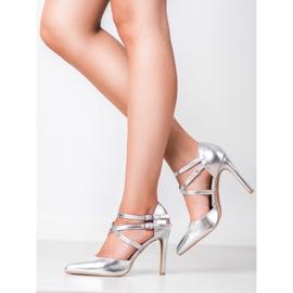 Kylie Skinnende Fashion Studs grå 7