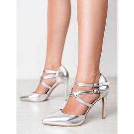 Kylie Skinnende Fashion Studs grå 2