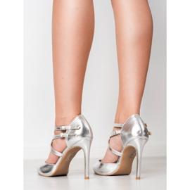 Kylie Skinnende Fashion Studs grå 6